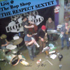 Live @ The Bop Shop Cover Art